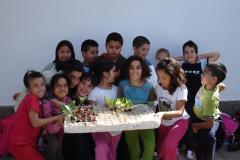 Huerto escolar 2009