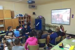 Videoconferencia con el CEIP Bañaderos